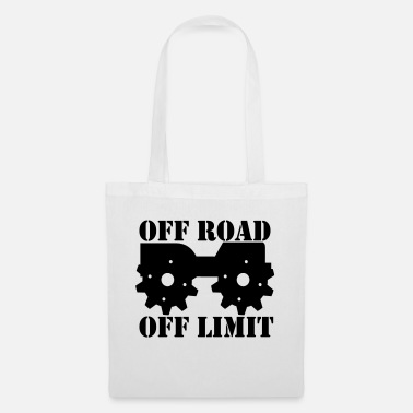 Off Off Road Off Limit - Sac en tissu