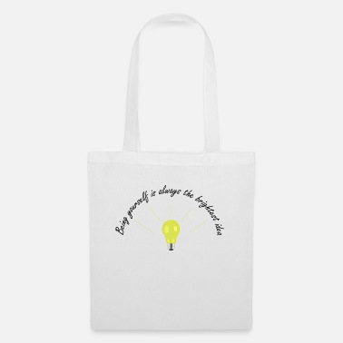 Light Bright Idea - Tote Bag