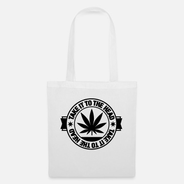Leaf take_it_to_the_head_1f1 - Tote Bag