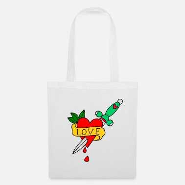 Love Me Love cut - Tote Bag