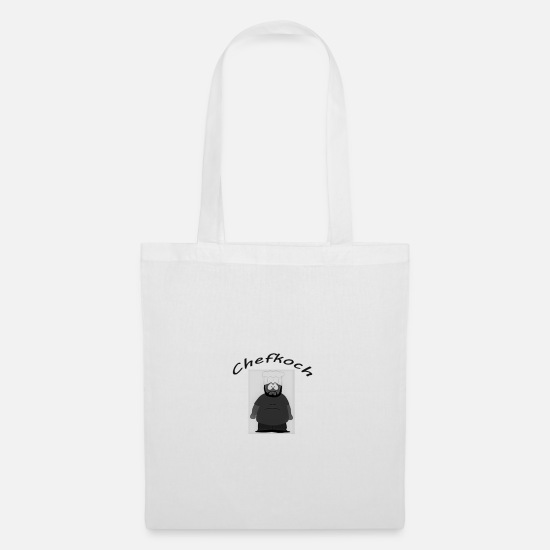 Love Bags & Backpacks - chef - Tote Bag white