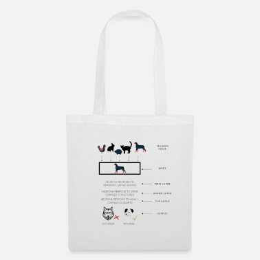 Recognition Neural Networks: recognition of the dog - Tote Bag