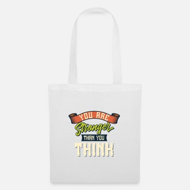 Porto Fun Shirt You are Stronger - Tote Bag