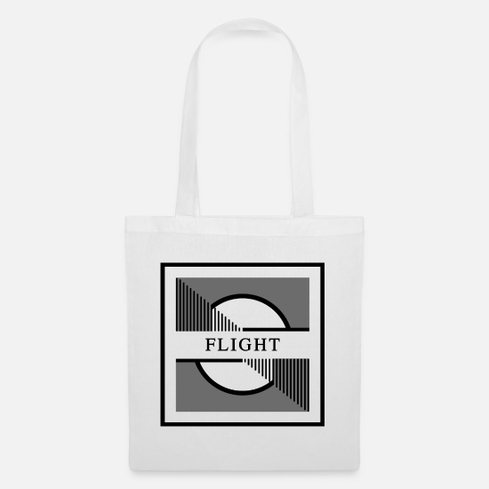 Fighter Jet Bags & Backpacks - FLIGHT - Tote Bag white