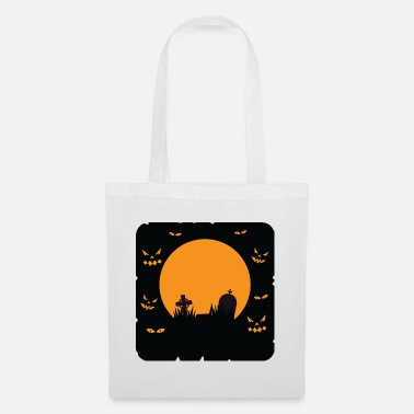 Witch Halloween Motive Tee Shirt 97 - Tote Bag