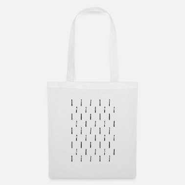 Dash dashed lines - Tote Bag