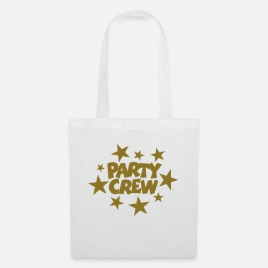Beachparty Party Crew Stars Gold (ES) - Bolsa de tela