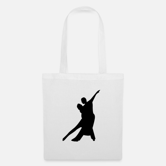 Dancer Bags & Backpacks - couple - Tote Bag white
