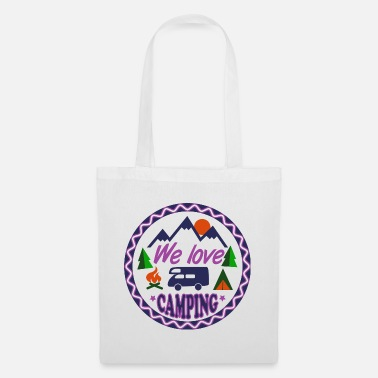 We Love Camping - Tote Bag