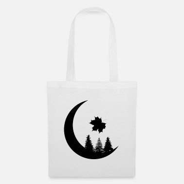 Weather Forest Autumn Autumn Silhouette Gift - Tote Bag