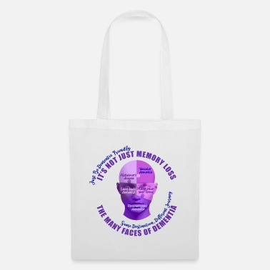 Vascular Dementia The Many Faces of Dementia - Tote Bag