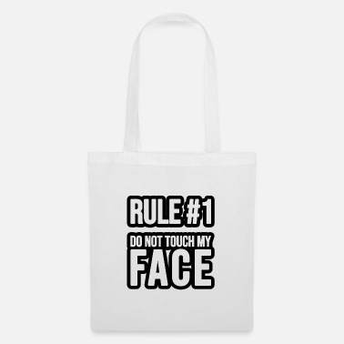 Privateer Rule #1 - Do not touch my Face - Tote Bag