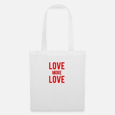 Ybytshirt Love more love - Tote Bag