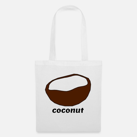 Gift Idea Bags & Backpacks - coconut - Tote Bag white