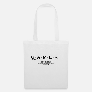 Dictionary Gamer dictionary - Tote Bag