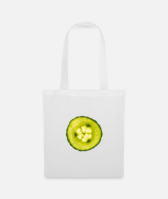 Bless You Bags & Backpacks - cucumber - Tote Bag white