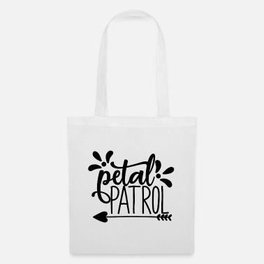 Bride petal patroll - wedding design - Tote Bag