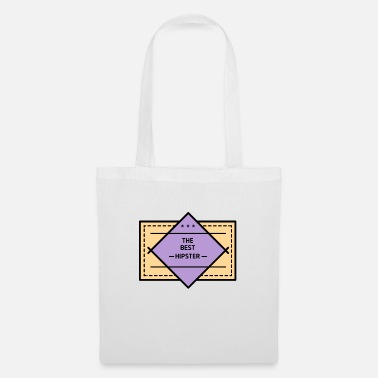 Hipster Hipster: The Best Hipster - Tote Bag