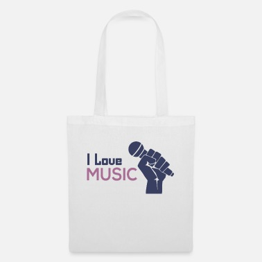I love music - Tote Bag