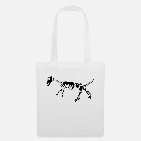 Carnivores Bags & Backpacks - fossilien_ay1 - Tote Bag white