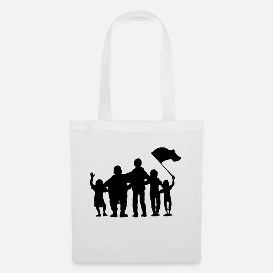 Fan Bags & Backpacks - fussballfans - fan - fans - Tote Bag white