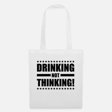 Games drinking_not_thinking_ge1 - Tote Bag