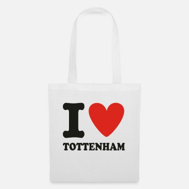 Love I LOVE TOTTENHAM - Tote Bag