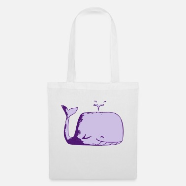 Wale Blue Wale - Tote Bag