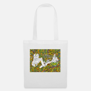 Miscellaneous 41012 1 miscellaneous digital art trippy psychedel - Tote Bag