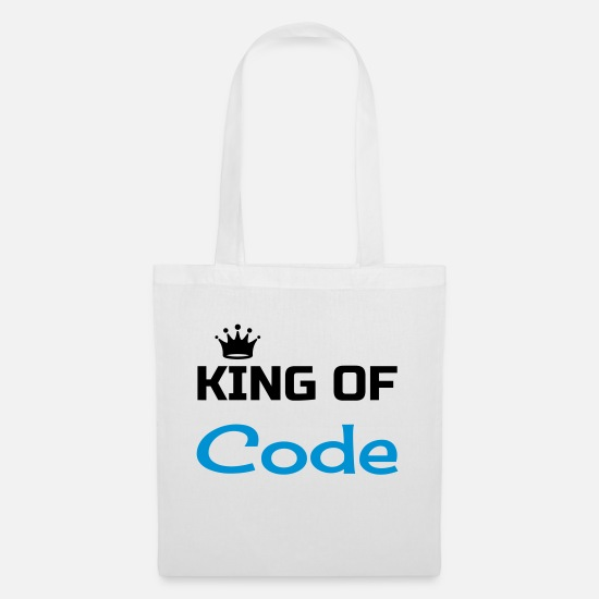 Code Bags & Backpacks - Developer Entwickler Développeur Computer Geek - Tote Bag white