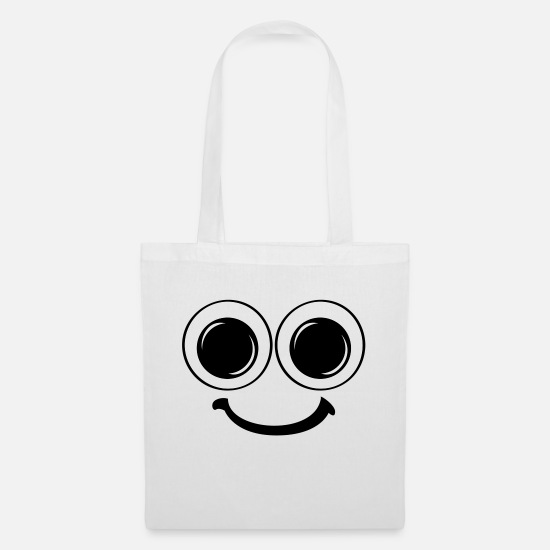 Face Bags & Backpacks - To smile about - Tote Bag white