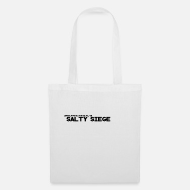 Sieg salty Siege Black - Tote Bag