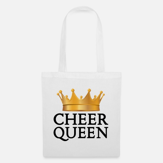 Gift Idea Bags & Backpacks - cheerleader - Tote Bag white