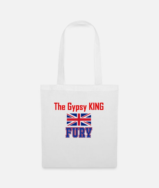 Gypsy Bags & Backpacks - Fury The Gypsy King Gift - Tote Bag white