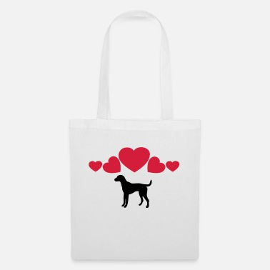 Hot Dog ❤↷I Love Dogs-Best Animal-Dog Lovers↶❤ - Tote Bag