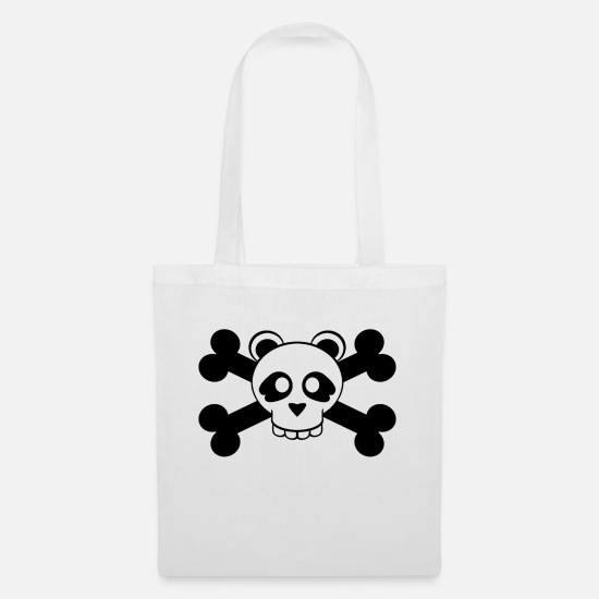 Flag Bags & Backpacks - the dead panda - Tote Bag white