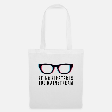 Mainstream Hipster is too Mainstream - Tote Bag