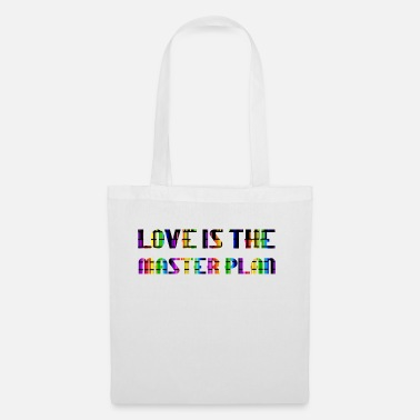 Sun love is the masterplan baby with you - Tote Bag