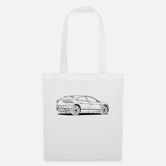 Racing Bags & Backpacks - jag white - Tote Bag white