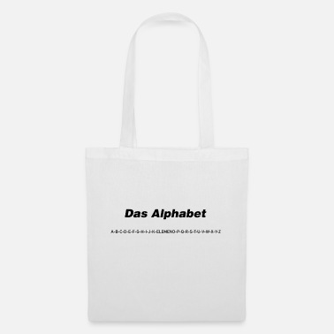 The alphabet (spoken) - Tote Bag