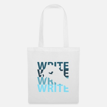 Writing Write - Tote Bag