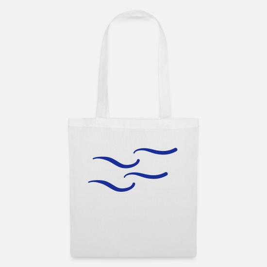 Sports Bags & Backpacks - wellen_f1 - Tote Bag white