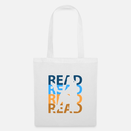 Bookworm Bags & Backpacks - Read - Tote Bag white