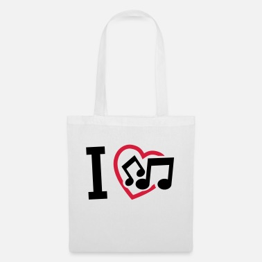 I Love Music i_love_music_f2 - Tote Bag