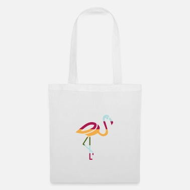 Pink Flamingo flamingo - Tote Bag