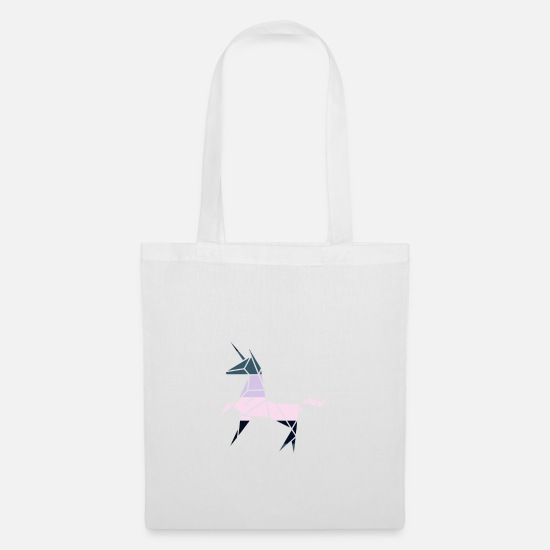 Unicorn Bags & Backpacks - unicorn - Tote Bag white