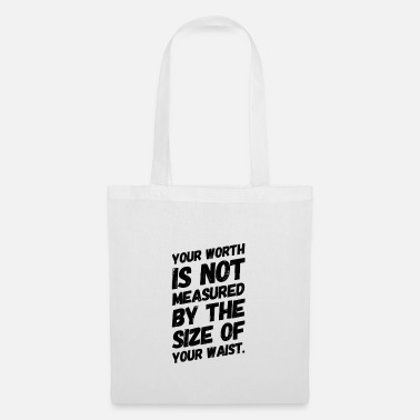 Statement Against Statement against Fatshaming | Curvy gift idea - Tote Bag