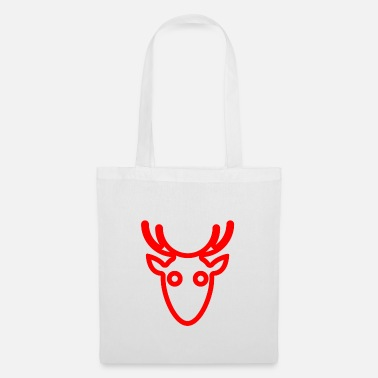 Motorcycle deer - Tote Bag
