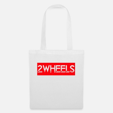 Two-wheeled two wheels print - Tote Bag