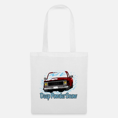 Deep Snow Deep Powder Snow - Tote Bag